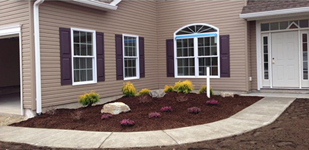 Completed Residential Landscaping