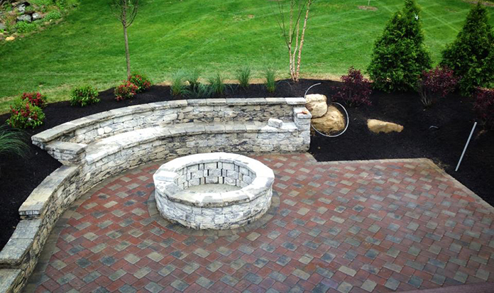 Superior Landscaping Block Wall Experience