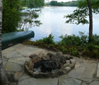 lake front fire pit