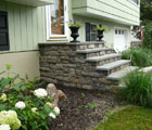 cultured stone entry steps